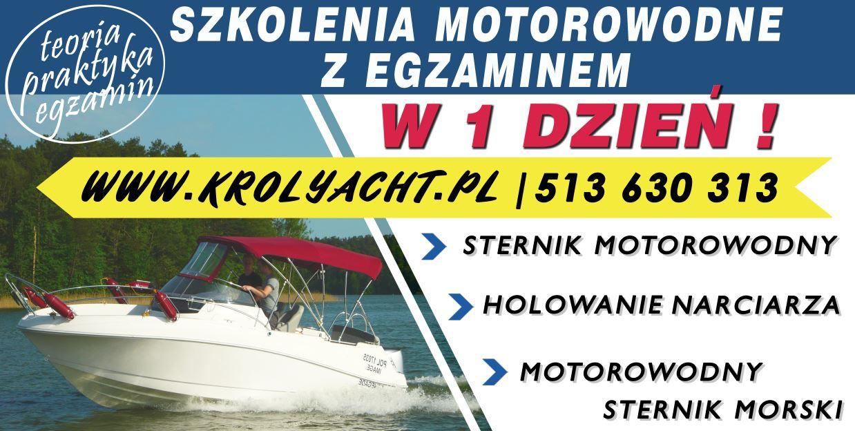 Morski Sternik motorowodny w 1 dzień - TYLKO TERAZ - TYLKO U NAS
