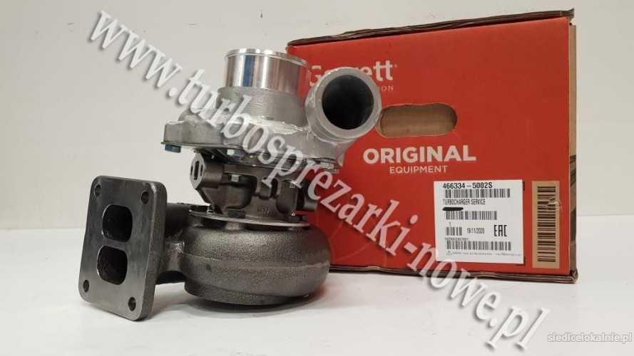 John-Deere - Turbosprężarka GARRETT  466334-0002 /  466334-0